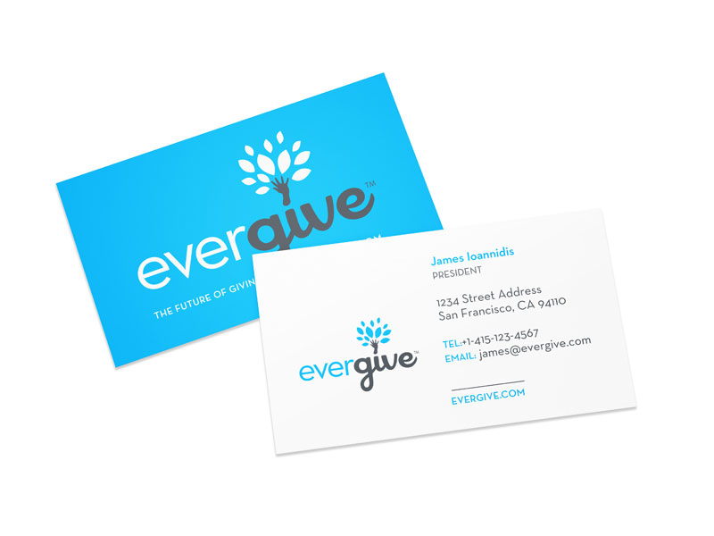 evergive business cards
