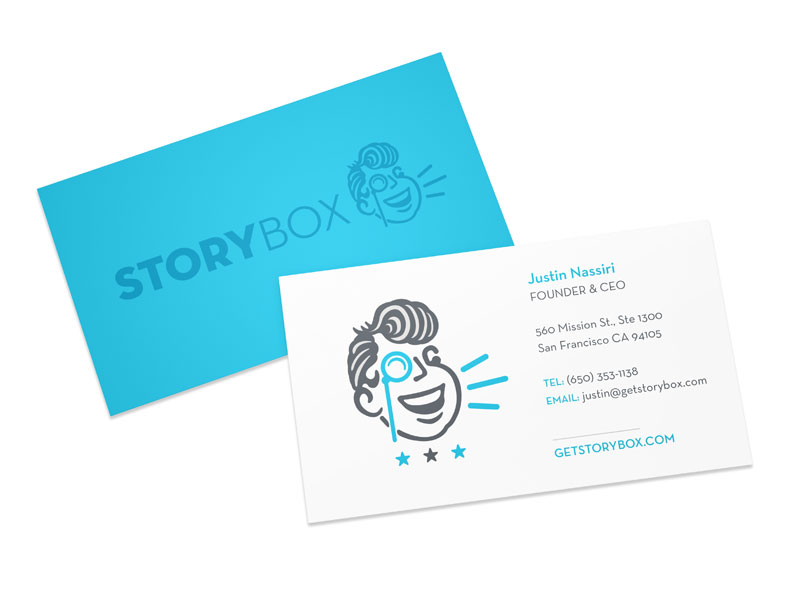 StoryBox Business Cards