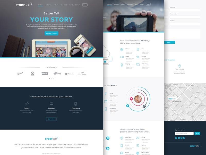 website-screen-montage